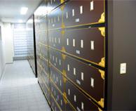 写真:合葬納骨壇の内部